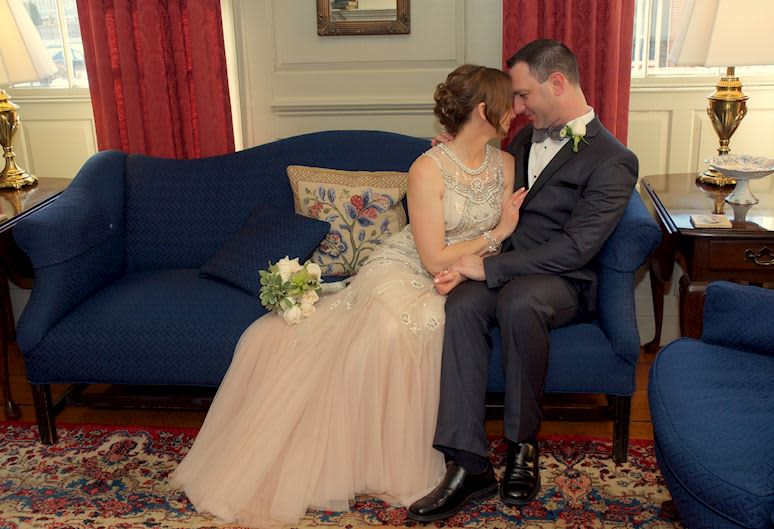Elopement Package At The Francis Malbone House, Newport