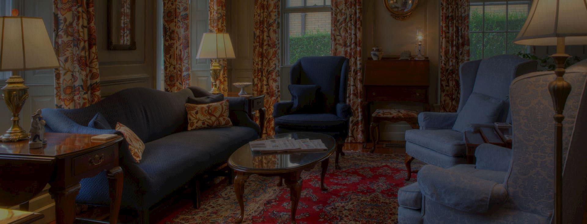 The Francis Malbone House Newport Main Room