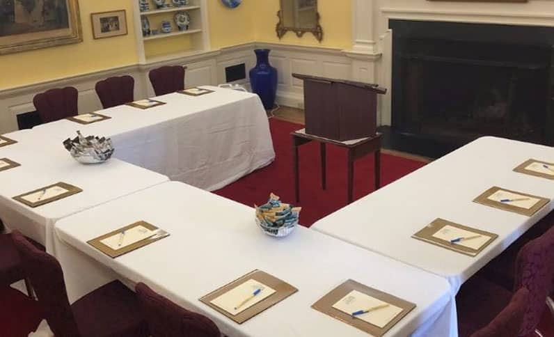 What We Offer For Corporate Planners At The Francis Malbone House, Newport