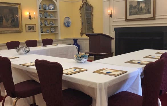 Meeting Planning At The Francis Malbone House, Newport