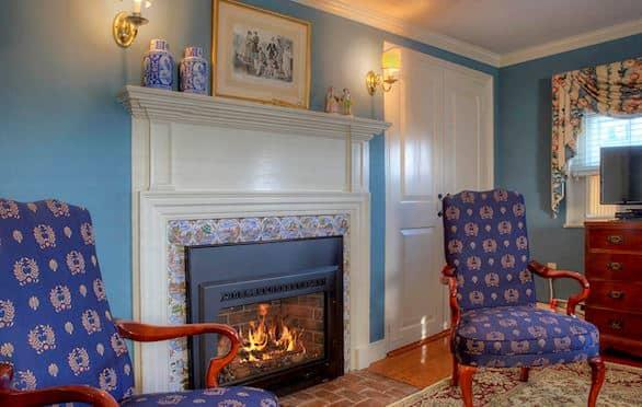 Harborside Room 6 at The Francis Malbone House, Newport