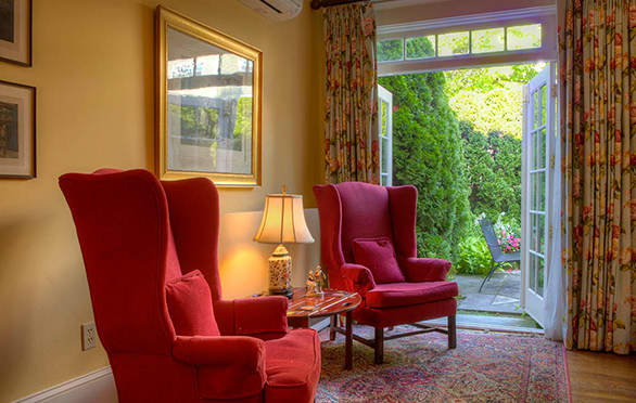 Courtyard Suite at The Francis Malbone House, Newport