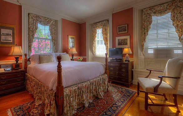 Gardenside Room 1 At The Francis Malbone House, Newport