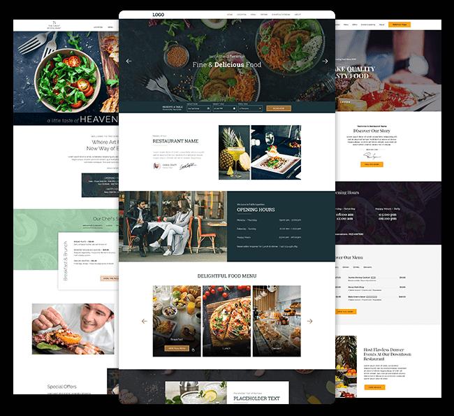 Milestone Inc Restaurant Website Design