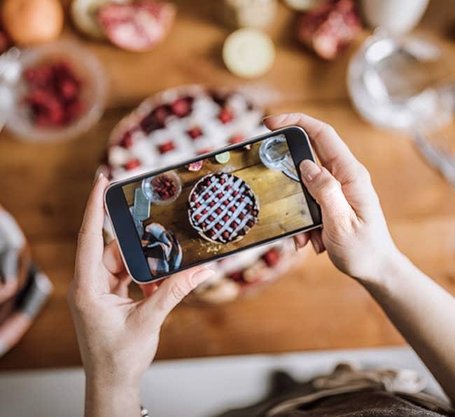 Milestone Inc Control of Restaurant Business Social channels