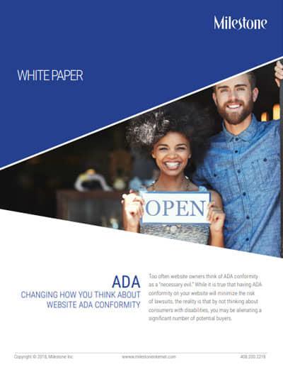 Milestone Inc ADA WhitePaper