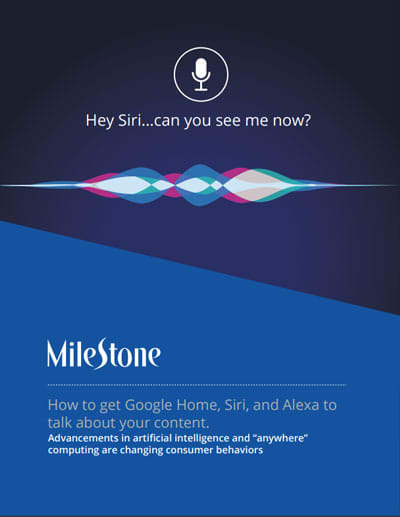 How to get Google Home, Siri, and Alexa to talk about your content.