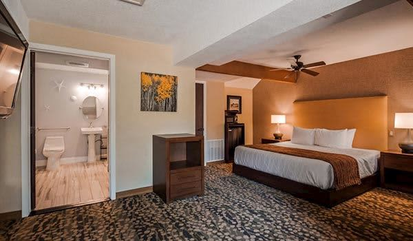 King ADA at Best Western The Inn & Suites Pacific Grove