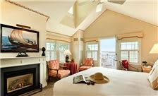 Guest Room with Harbor View and Fireplace
