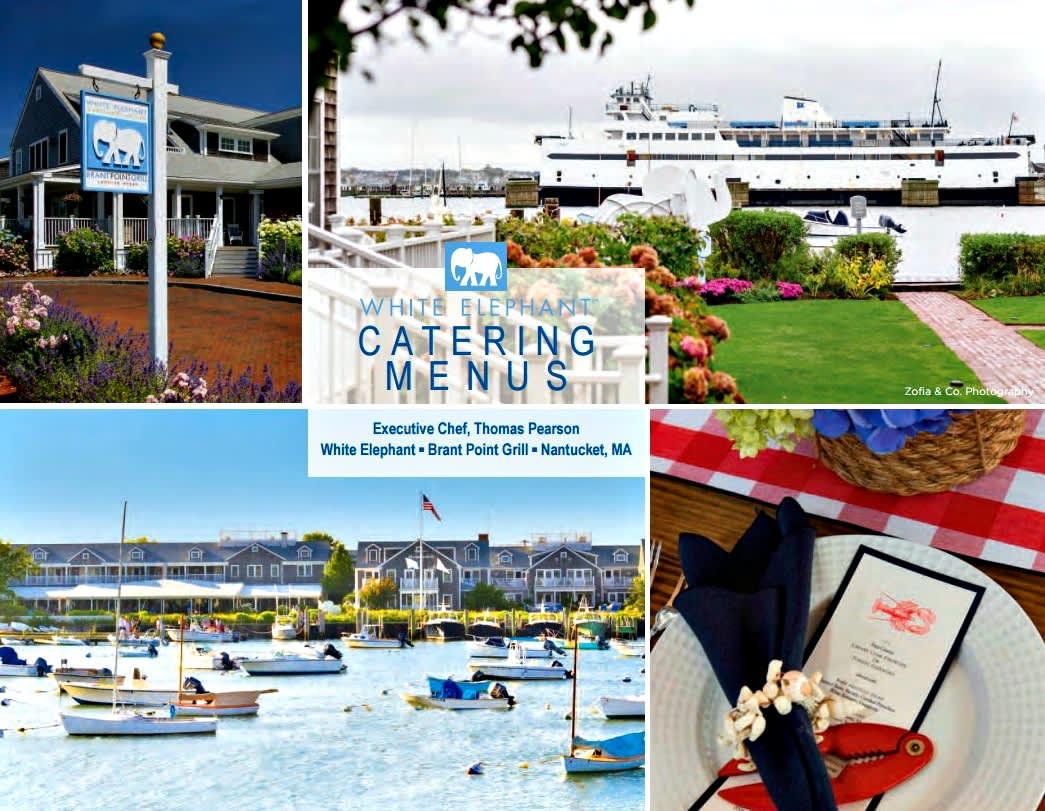 2WE catering menu cover