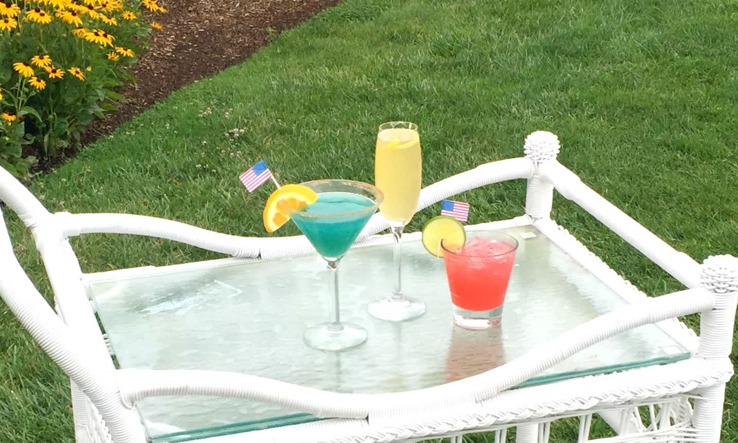 olympic theme cocktails