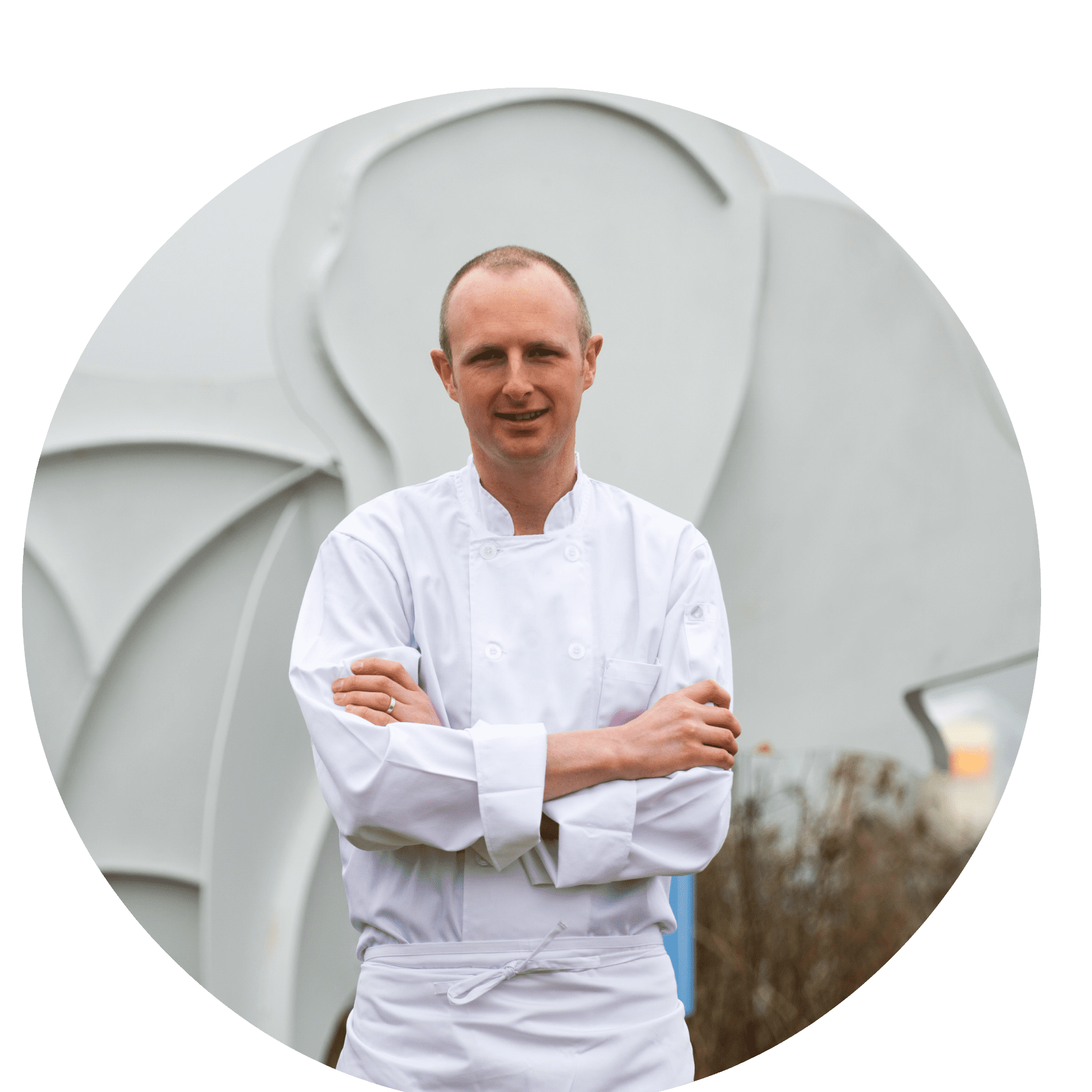 CircleChef Tom Pearson with Elephant