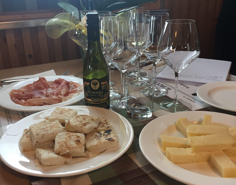 Friuli local cheeses