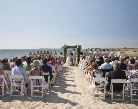 WAU Beach Ceremony