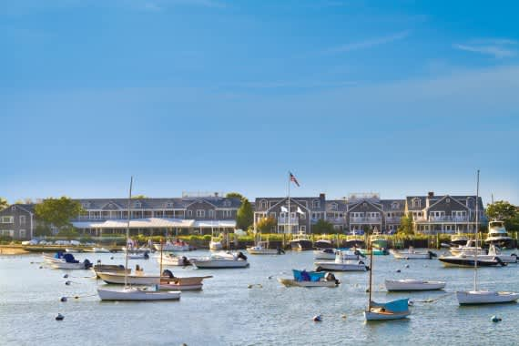 White Elephant View from Harbor Nantucket
