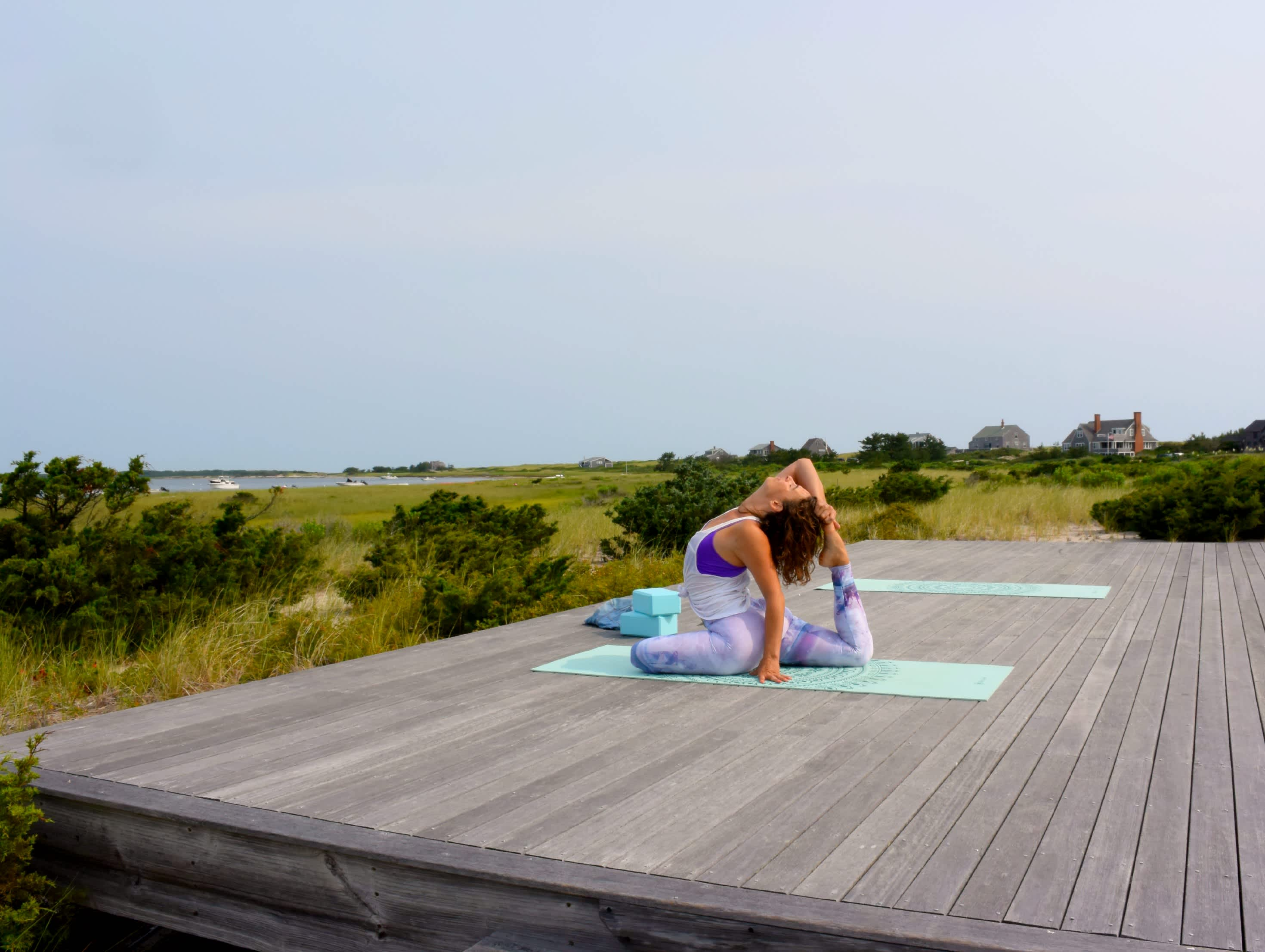 bend yoga deck