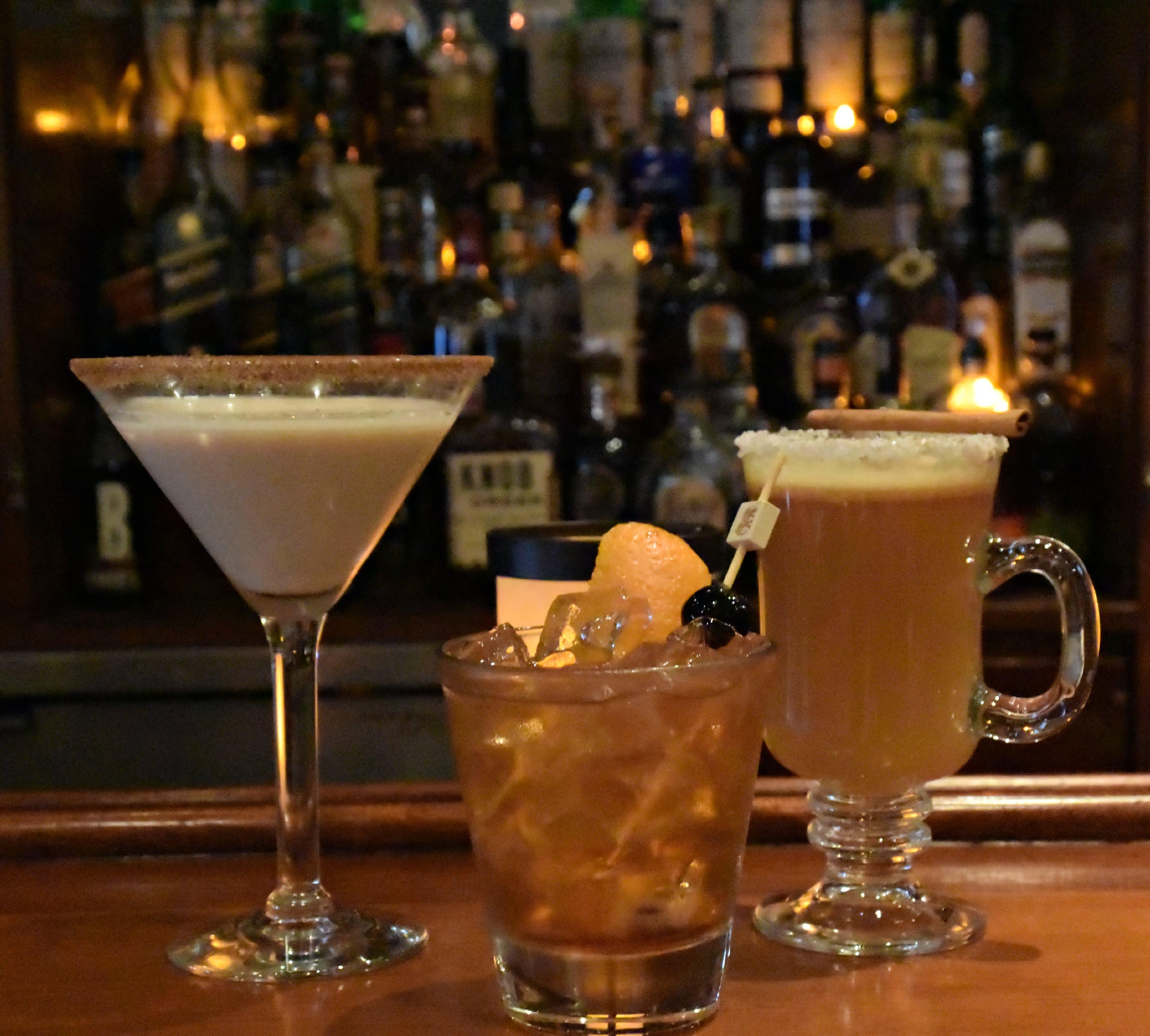 fall cocktails at bar 1