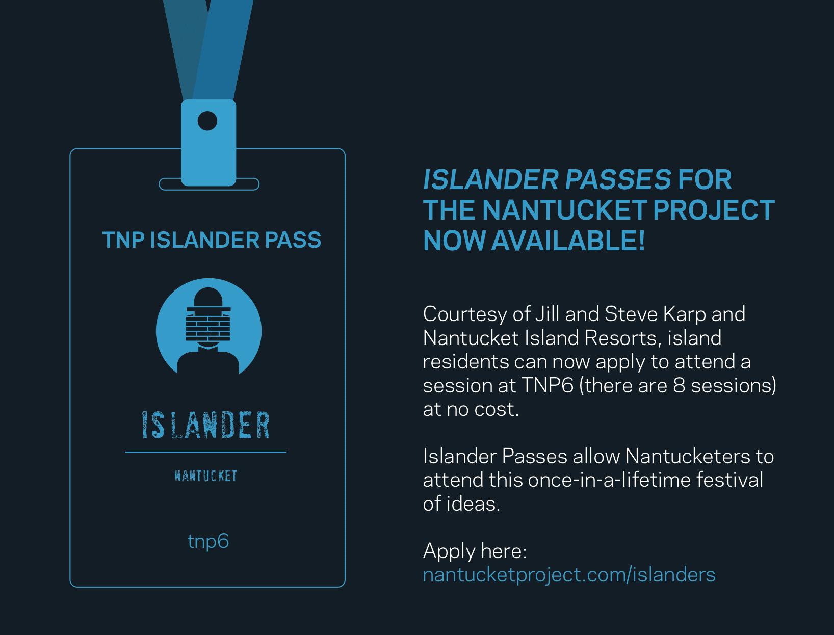 nantucket project islander pass