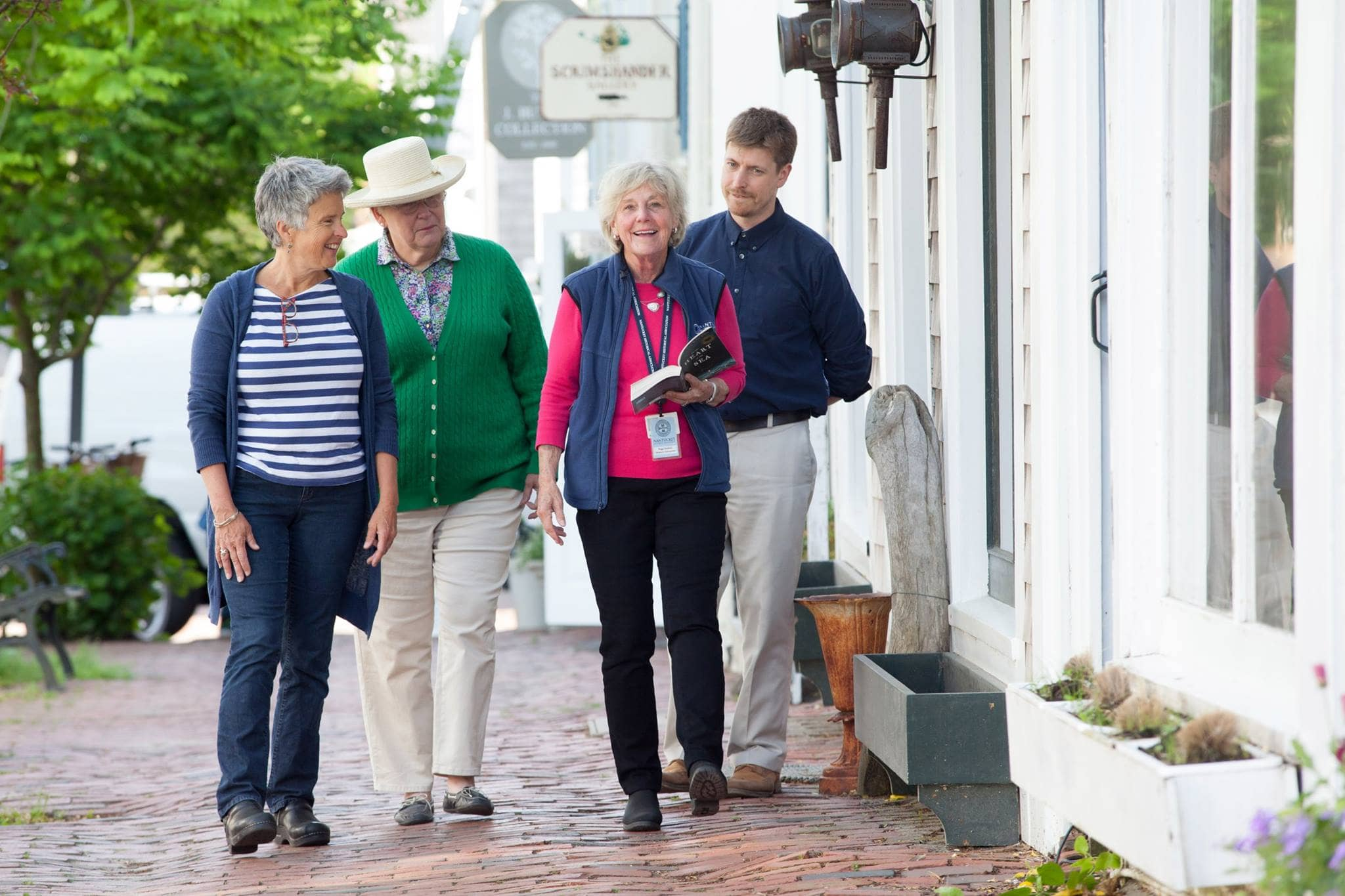 walking tour nantucket