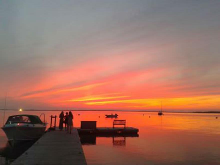 wau dock sunset LGR