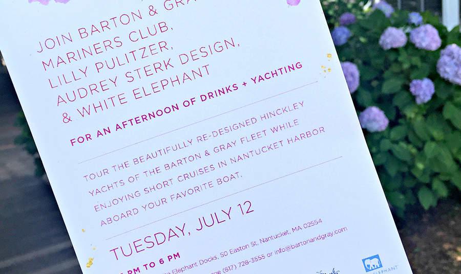 Cocktails & Cruises at White Elephant