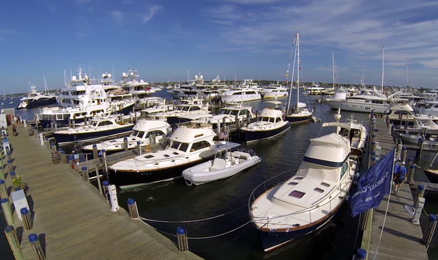Hinckley Owner's Rendezvous in Nantucket