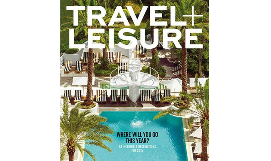 White Elephant Named to Travel + Leisure's 2015