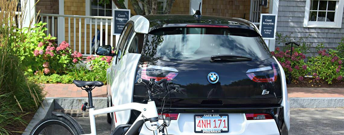 BMW vehicles on select White Elephant Village Accommodations