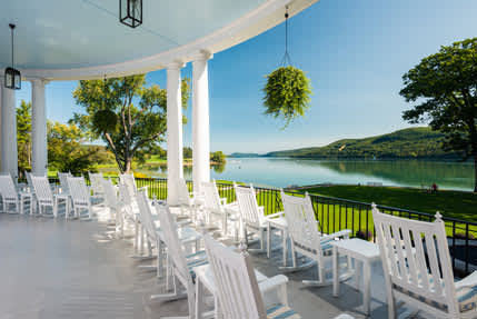 Historic Cooperstown NY Hotel On Lake Otsego View 2
