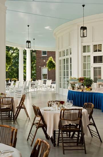 Veranda Breakfast of The Otesaga Resort Hotel