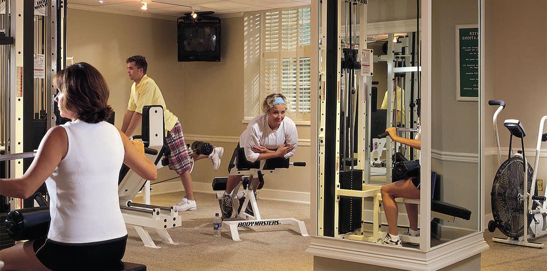 The Otesaga Resort Hotel Fitness Room