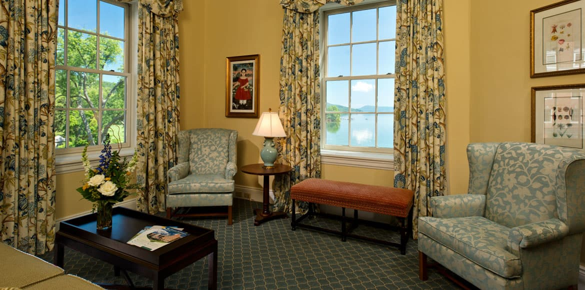 Lake Suite at The Otesaga Resort Hotel Cooperstown, New York