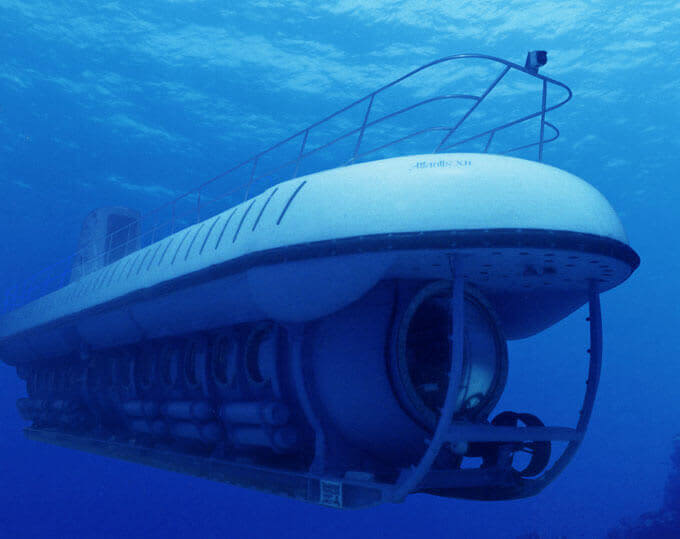 Atlantis submarine Cozumel, Mexico