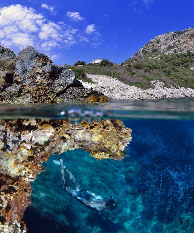 Navarino Sea Underwater