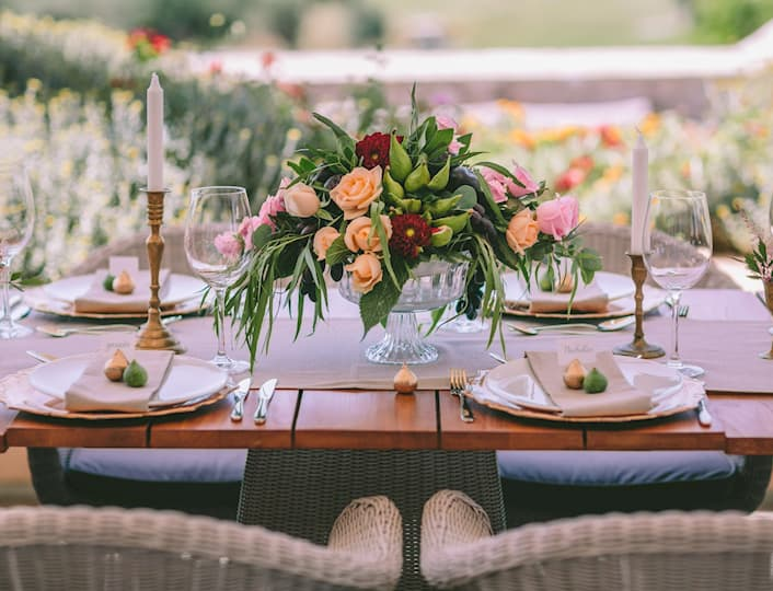 Wedding at Flame terrace, at the Dunes Clubhouse