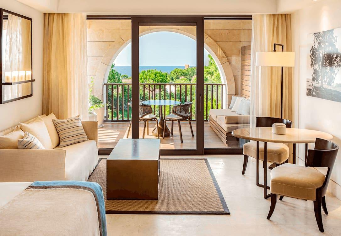 Deluxe Δωμάτια με θέα θάλασσσα