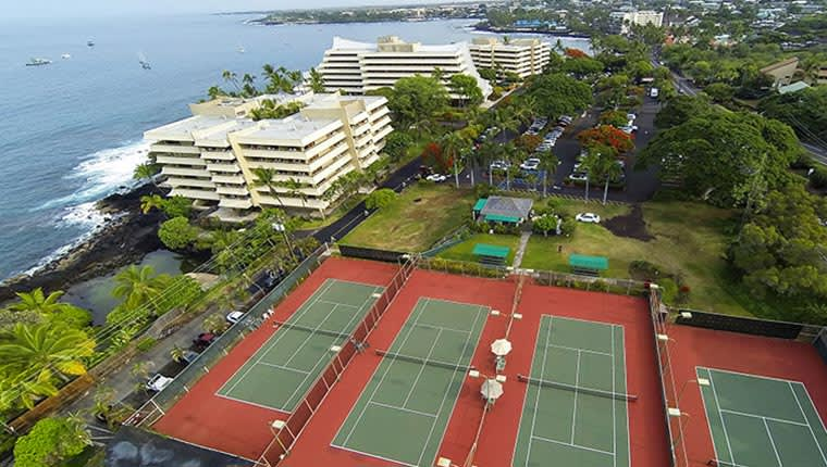 Royal Kona Tennis Club at Kailua Resort