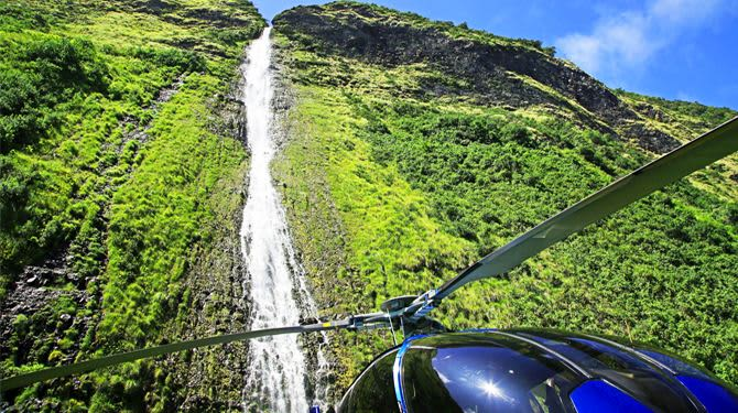 Volcano Helicopter Tour of Hawaii