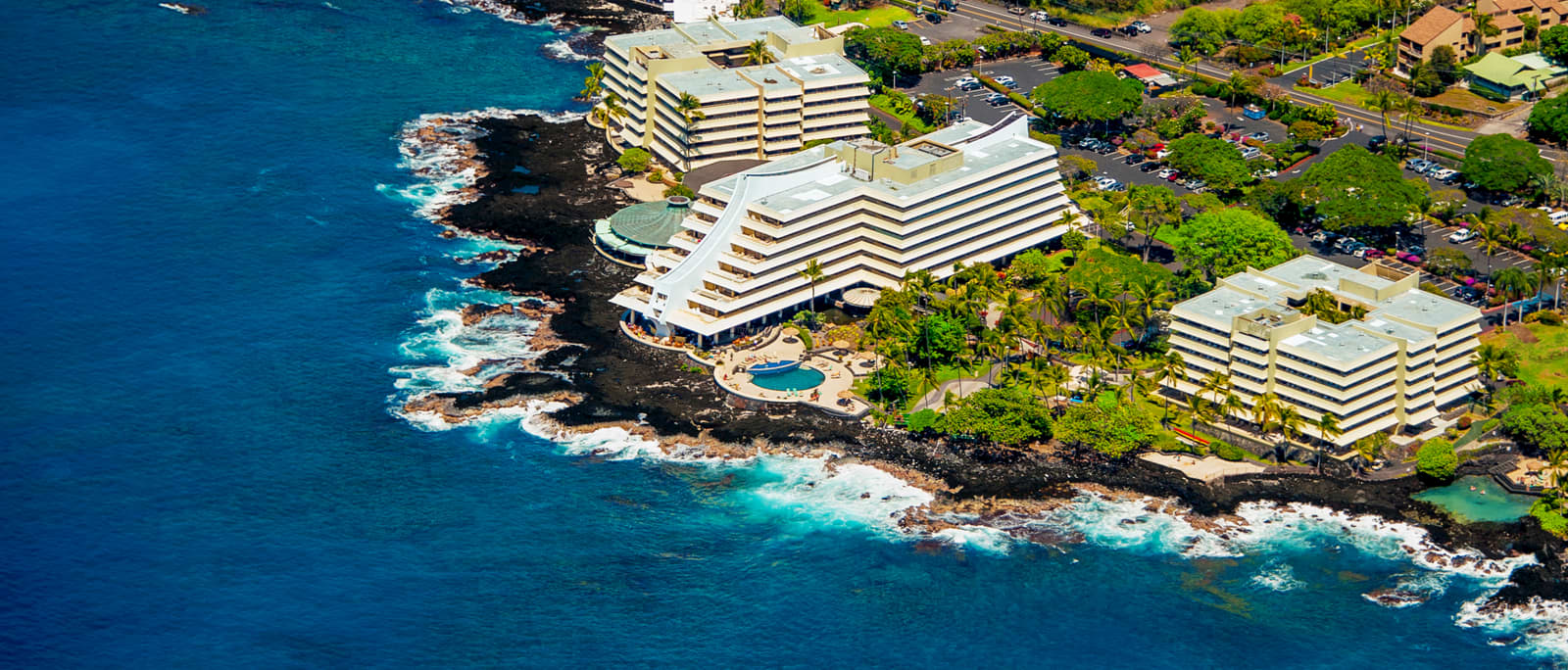 Location of hawaii Resort