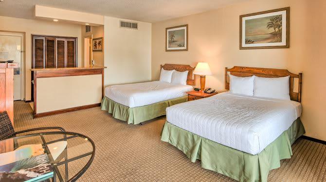 Guestrooms at Resort Kailua