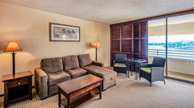 Kailua Bay Junior Suite of Royal Kona Resort, Hawaii