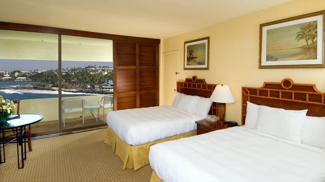 Ocean View of Royal Kona Resort, Hawaii