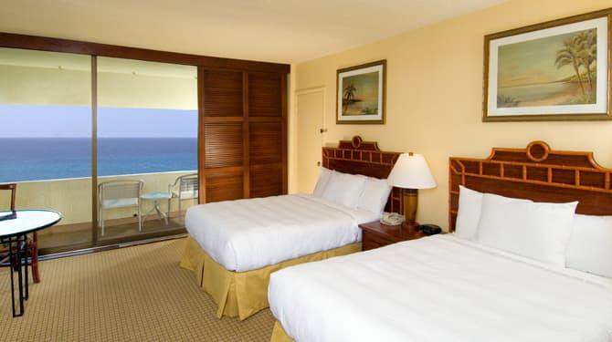 Ocean Front of Royal Kona Resort, Hawaii