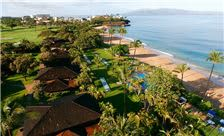 Royal Lahaina Resort - Aerial View with Ocean Front