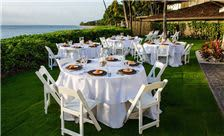 Royal Lahaina Resort - Reception Dininig Set up