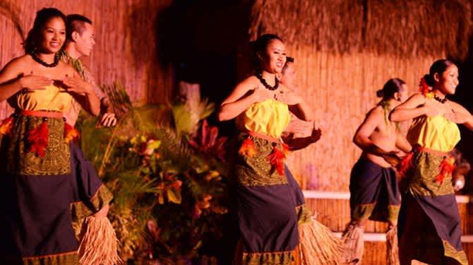 Myths of Maui Luau at hawaii Resort