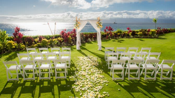 Venues of Royal Lahaina Resort, Hawaii