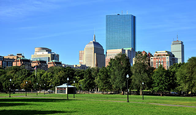 Boston Common at Massachusetts