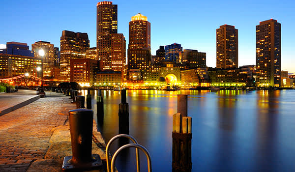 The Boston Harborwalk at Massachusetts