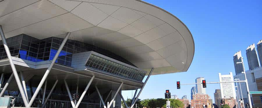 Boston Convention & Exhibition Center at Massachusetts